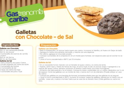 Galletas de Chocolate - de Sal