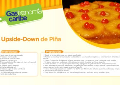 Upside-Down de Piña